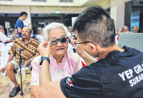 so that ophthalmologists can immediately diagnose whether the elderly have cataracts and whether they need surgery.
