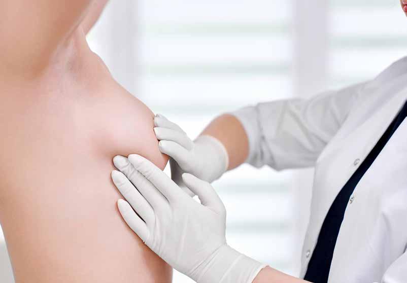 Unlike cancerous tumours in the breast, granulomatous mastitis lumps often cause pain, said Dr Julie Liana Hamzah (below).