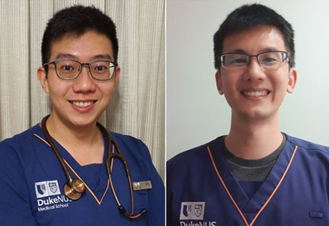 Graduating from medical school, Duke-NUS students enter front-line against Covid-19
