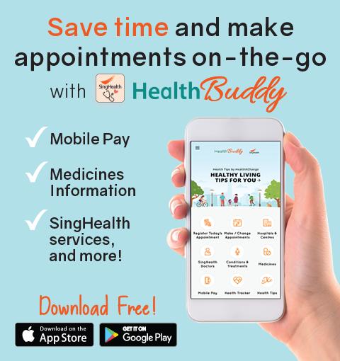 Health Buddy - Health Mobile Application - SingHealth