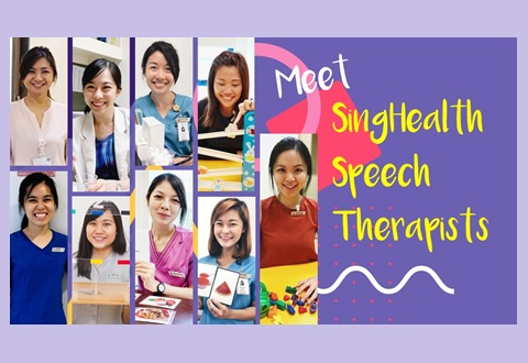 Meet SingHealth Speech Therapists