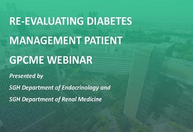 Re-evaluating Diabetes Management Patient GPCME Webinar