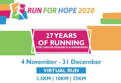 Run for Hope - Hastening breakthroughs in cancer research