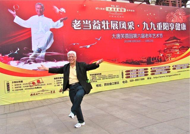 Going strong still at Xian 2010