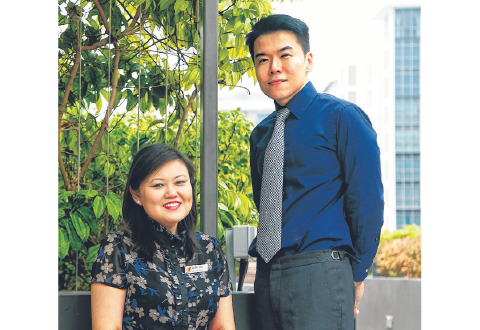 Sengkang General Hospital employs persons with past experience to help those with mental health conditions