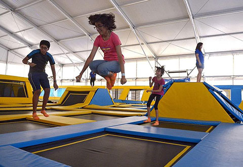 Jump in Trampoline Interest and Injuries