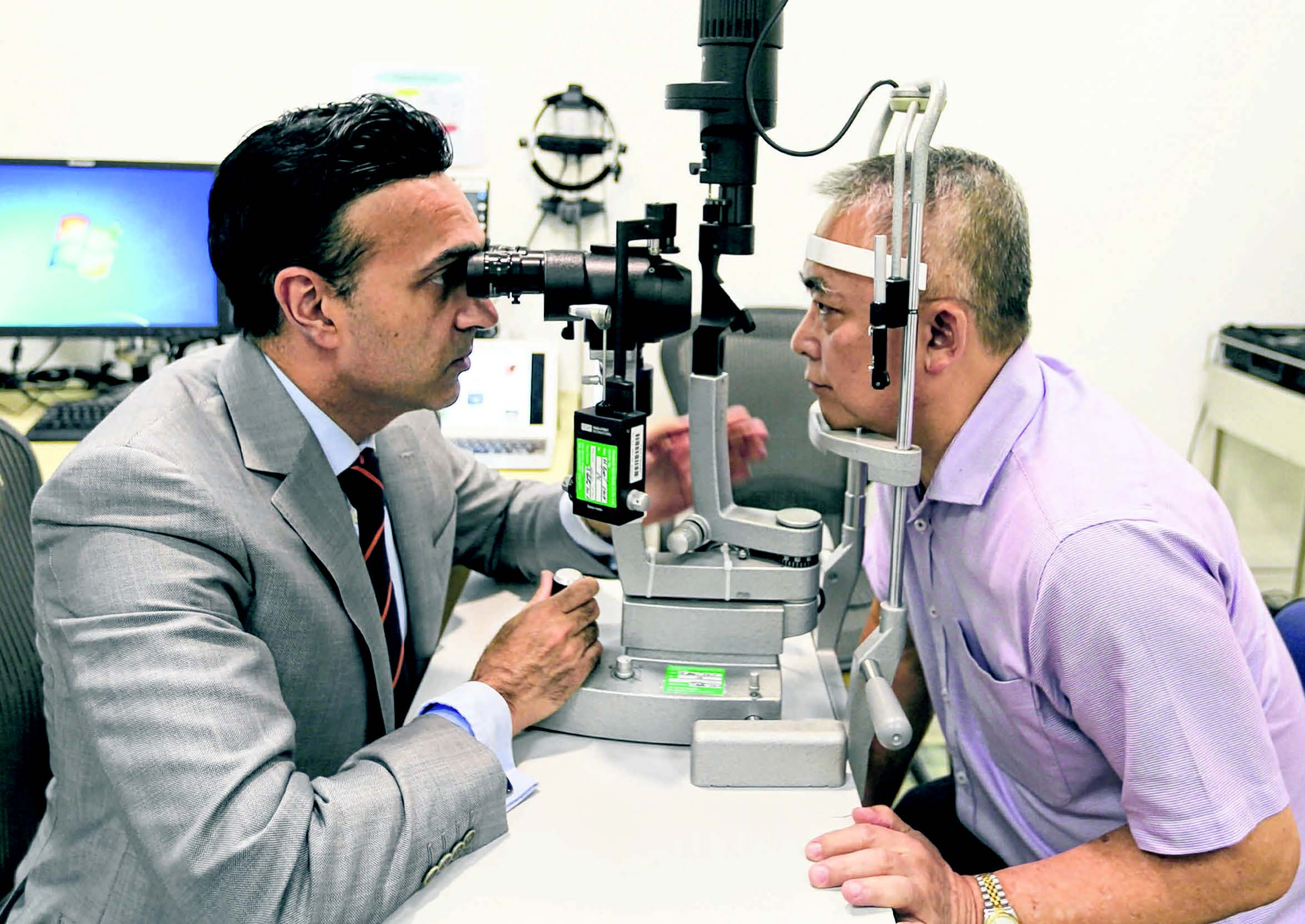 laser surgery to remove pterygium