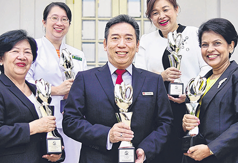 Five nurses get President's Award for their contributions