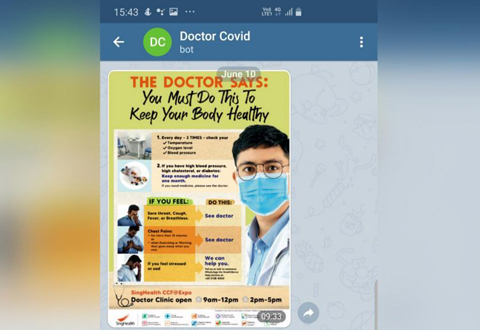 'Chatbot doctor' for 3,000 patients in community care facilities