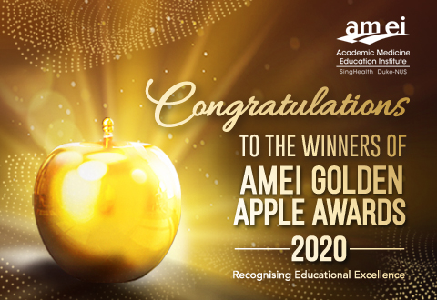 Meet the AMEI Golden Apple Award 2020 winners!