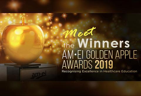 Meet the winners of this year's AM•EI Golden Apple Awards
