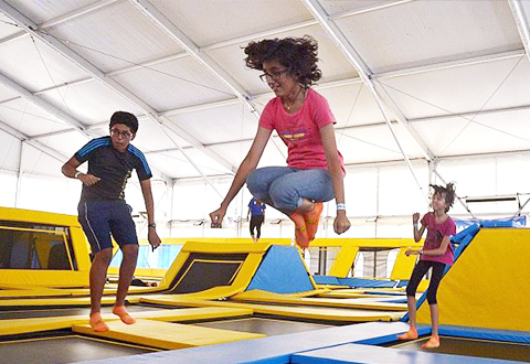 Jump in trampoline interest... and injuries