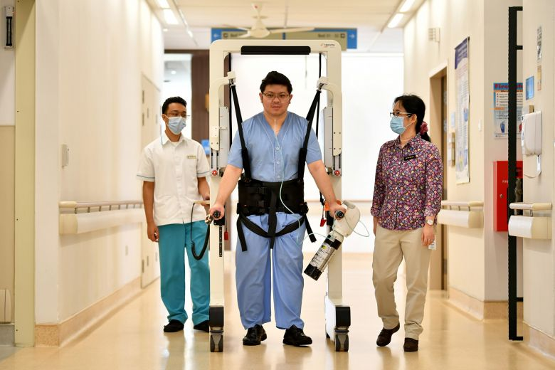 Covid-19 Patient In CGH Gets Back On His Feet With Help Of Robotic Device