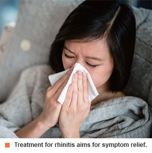 Rhinitis treatment at Singapore General Hospital.