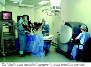 Da Vinci Robot-Assisted Laparoscopic Radical Prostatectomy Singapore General Hospital