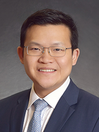 Dr Gavin Tan from Singapore National Eye Centre