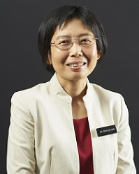 Dr Yeoh Lee Ying from Sengkang General Hospital
