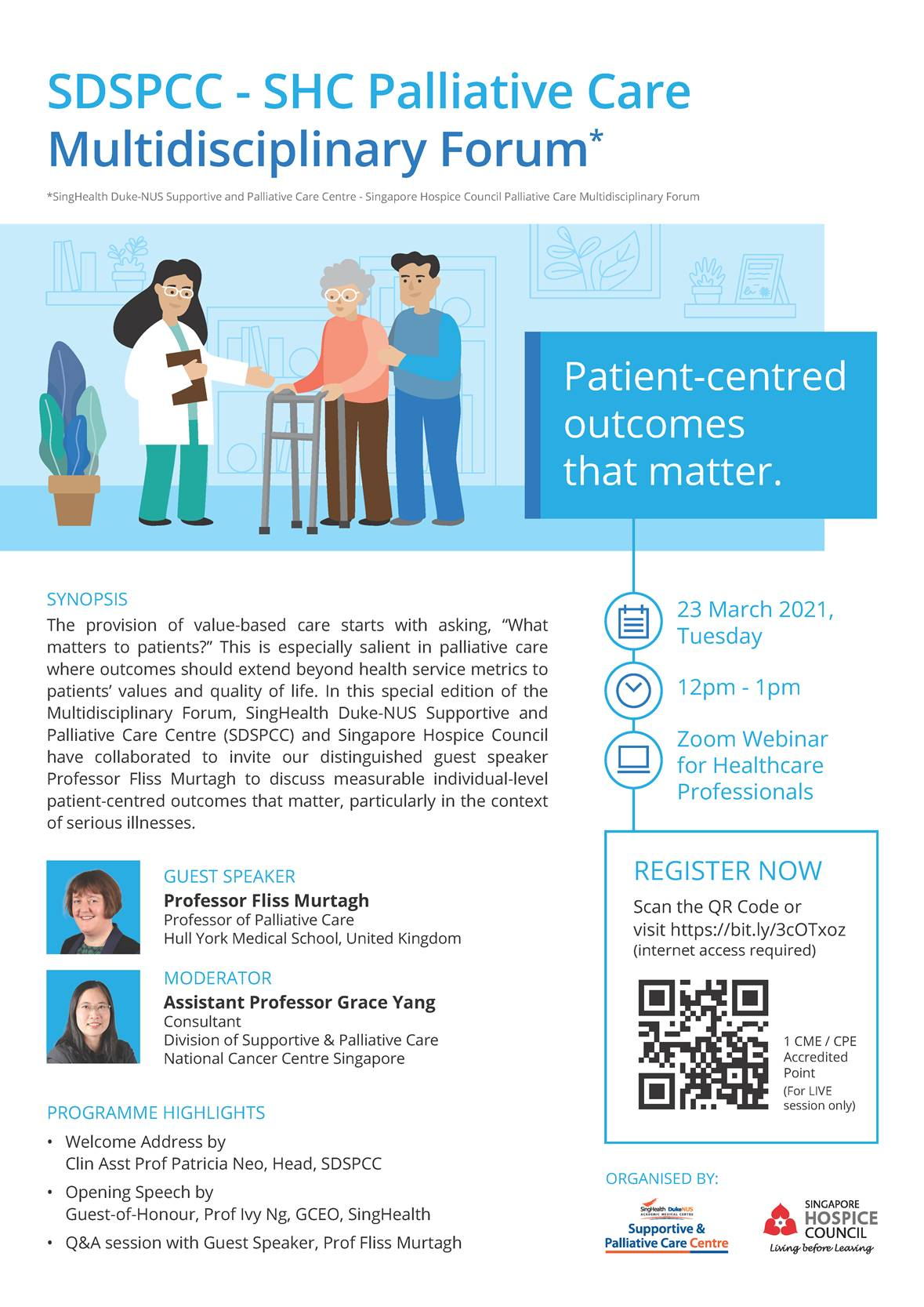 SDSPCC – SHC Palliative Care Multidisciplinary Forum