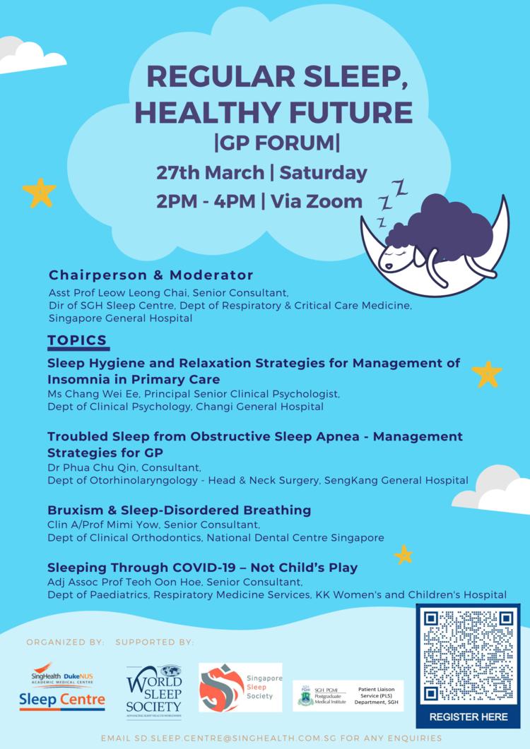 Regular Sleep, Healthy Future GP Forum