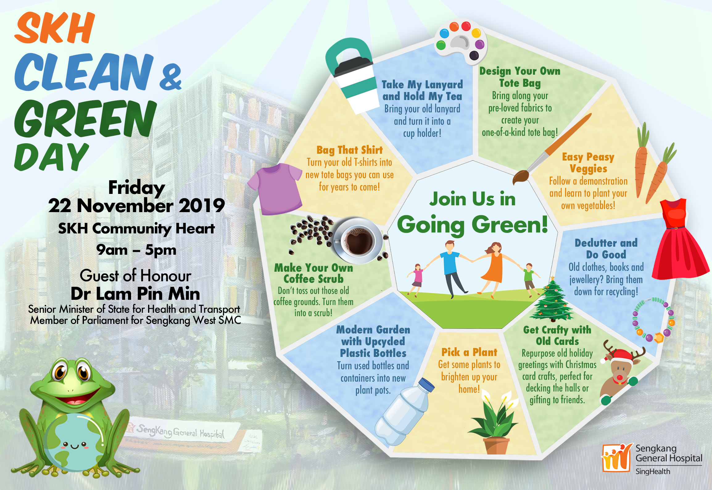 SKH Clean and Green Day 2019