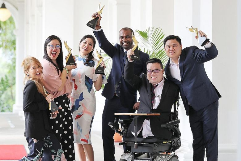 Six young adults get top youth award
